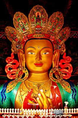 Budha  Art Print by Saira Ks