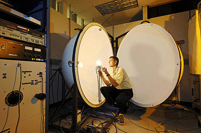 Integrated Photograph - Bulb Research by Volker Steger
