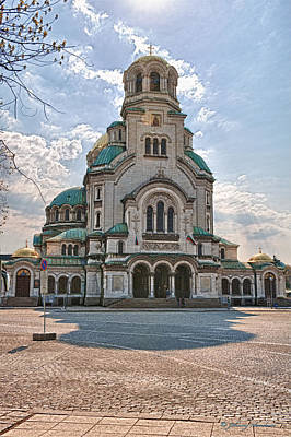 Photograph - Bulgaria Church  by Johnny Sandaire