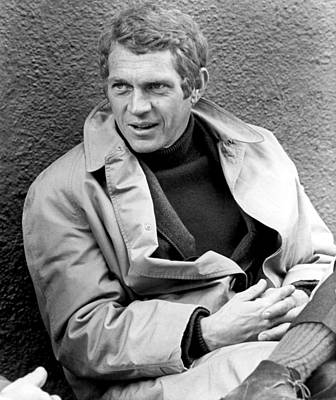 On Set Photograph - Bullitt, Steve Mcqueen, 1968 by Everett