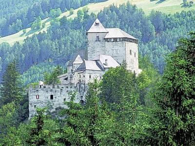 Burg Reifenstein Sterzing Italy Print by Joseph Hendrix