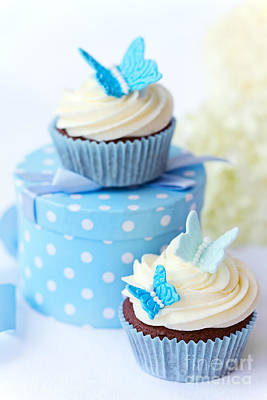 Wedding Favors Photograph - Butterfly Cupcakes by Ruth Black