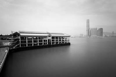 bw Hong Kong harbour view Original by Kam Chuen Dung