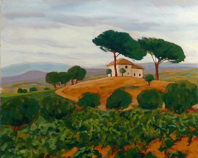 Painting - Cacabelos by Liliane Fournier