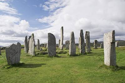 Megalith Photograph - Callanish Stone Circle by Adrian Bicker