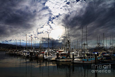 Photograph - Calm Before The Storm by Wingsdomain Art and Photography