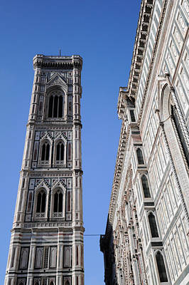 Photograph - Campanile Florence by Gary Eason