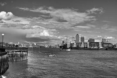Photograph - Canary Wharf by Shirley Mitchell