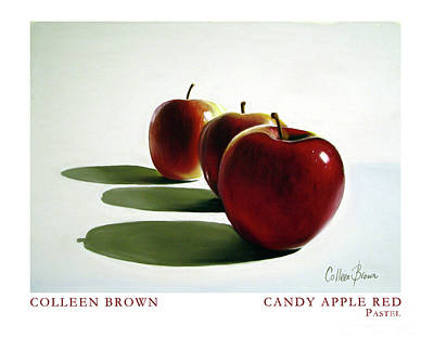 Realism Painting - Candy Apple Red by Colleen Brown