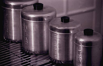 Tea Canisters Photograph - Canisters by Kevin Duke
