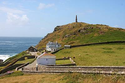 Photograph - Cape Cornwall by Ed Lukas