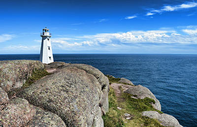 Photograph - Cape Spear Lighthouse by Steve Hurt