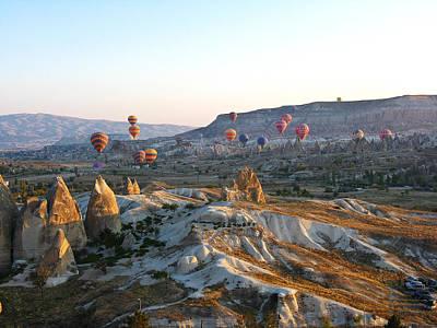 Cappadocia Turkey Art Print by Ian Stevenson