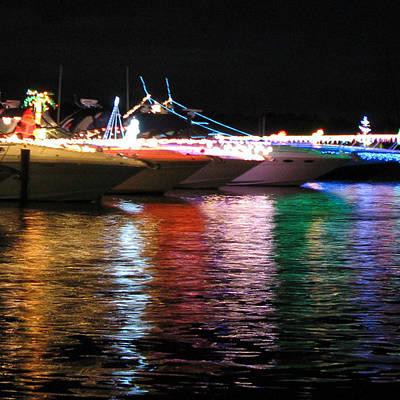 Photograph - Captiva Boat Parade by Patricia Januszkiewicz