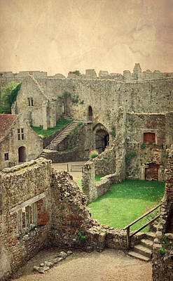 Photograph - Carisbrooke Castle by Marilyn Wilson