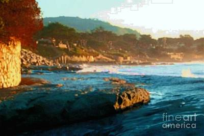 Photograph - Carmel By The Sea by Stanley Morganstein
