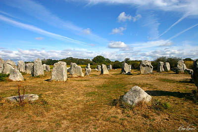 Photograph - Carnac by Diana Haronis