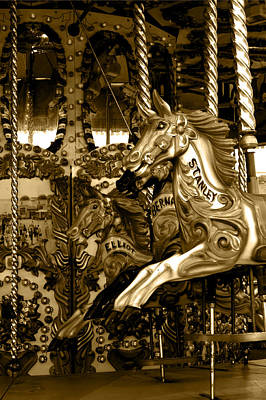 Photograph - Carousel by Chris Day