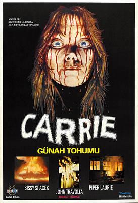 Carrie, Sissy Spacek, 1976 Art Print by Everett