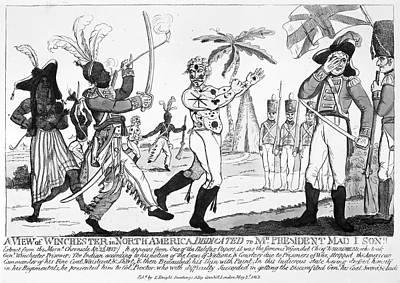 Cartoon: War Of 1812 Art Print
