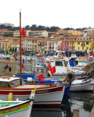 Photograph - Cassis Harbor by Carla Parris