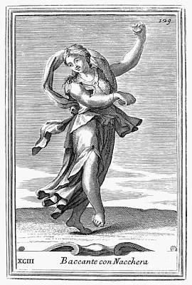 Castanets, 1723 Art Print by Granger