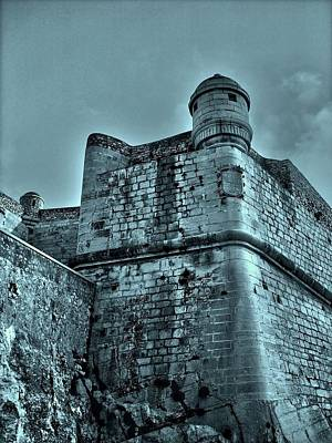 Knights Beach Photograph - Castle Of Peniscola - Spain by Juergen Weiss