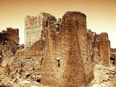 Castle Ruins Art Print by Roberto Alamino