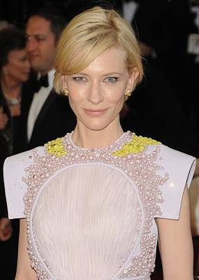 Cate Blanchett Photograph - Cate Blanchett Wearing A Givenchy by Everett