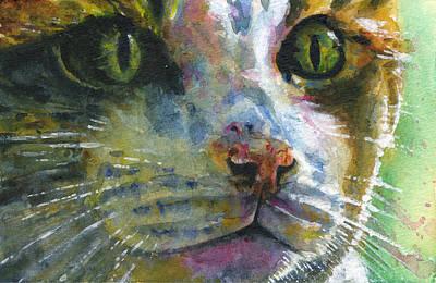 Painting - Cats Eyes 22 by John D Benson