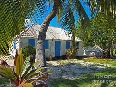 Cayman Islands Cottage Art Print by James Brooker