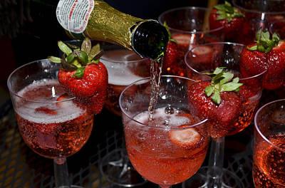 Champagne Photograph - Celebration by Kathy Jennings