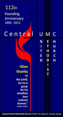 Digital Art - Central Umc Logo By Glenn 2011 by Glenn Bautista