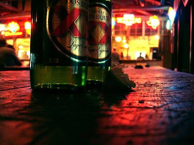Cervezas Art Print