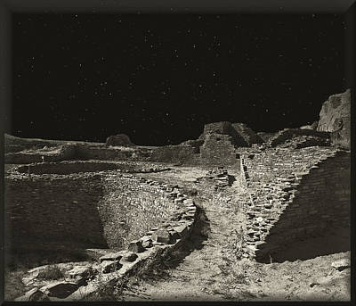 Chaco Canyon Art Print by Gordon Engebretson
