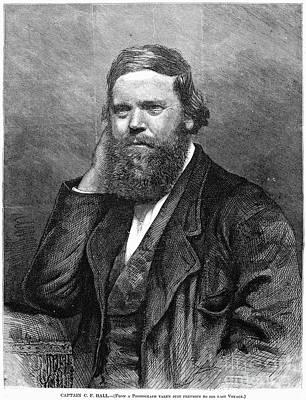 Charles Francis Hall Art Print by Granger