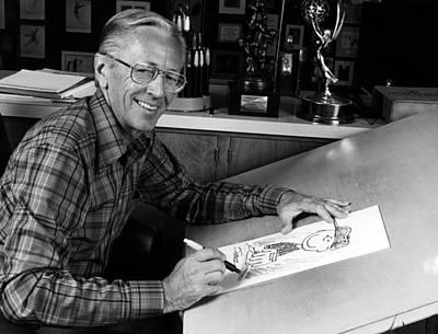 Charles M. Schulz, 1922-2000, American Art Print by Everett