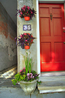 Ally Photograph - Charleston Home Series by Wendy Mogul