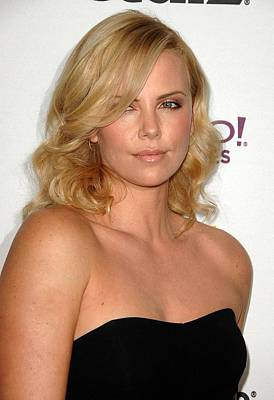 Charlize Theron Photograph - Charlize Theron At Arrivals For The by Everett