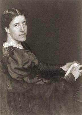 Charlote Perkins Gilman 1860-1935 Art Print by Everett