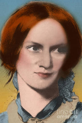 Photograph - Charlotte Bronte by Science Source