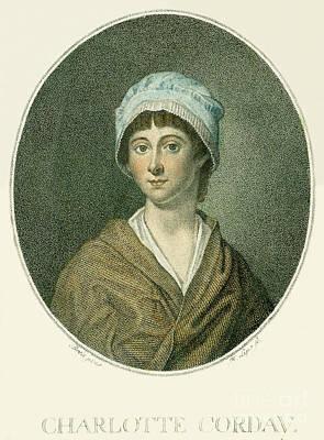 Charlotte Corday Art Print by Granger