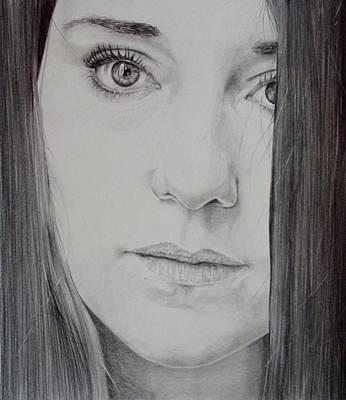 Charlotte Art Print by Monique Geurts