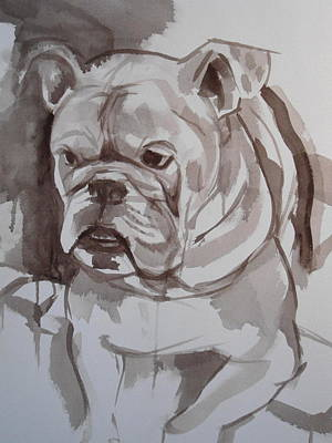 Bullie Painting - Cheetah The Bullie by Nathan Slaughter