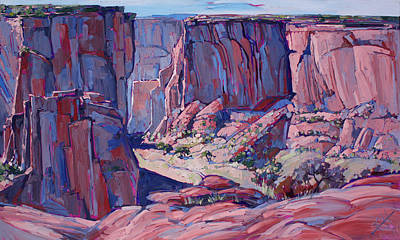Reservation Painting - Chelly Shadows by Erin Hanson