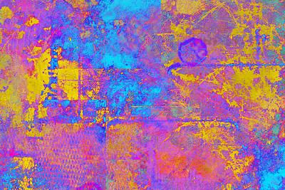 Chemiluminescence Art Print by Christopher Gaston