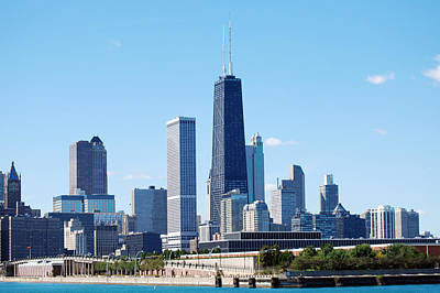 Photograph - Chicago Skyline by Harvey Barrison