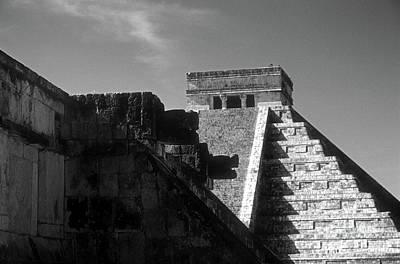 Photograph - Chichen Itza Ruins Yucatan Mexico by John  Mitchell