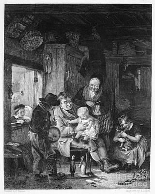 Children Playing Art Print by Granger