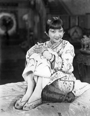 Chinatown Charlie, Anna May Wong, 1928 Art Print by Everett